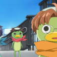 The three main kappas of SARAZANMAI from left to right, Toi, Kazuki, and Enta