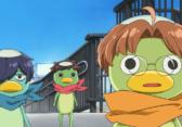 The three main kappas of SARAZANMAI from left to right, Toi, Kazuki, and Enta